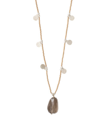 bl25714-charming-smokey-quartz-silver-necklace
